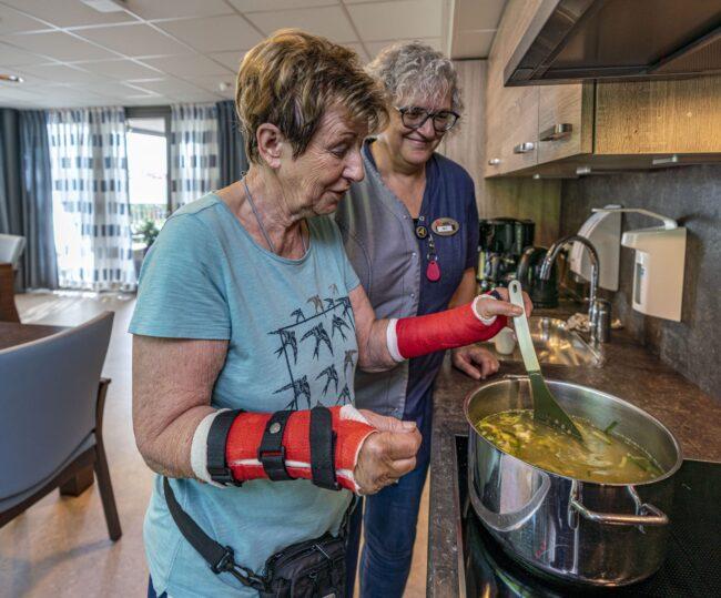 Ergotherapie soep koken
