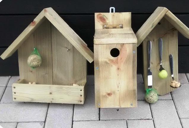 SVRZ Ter Poorteweg vogelhuisje