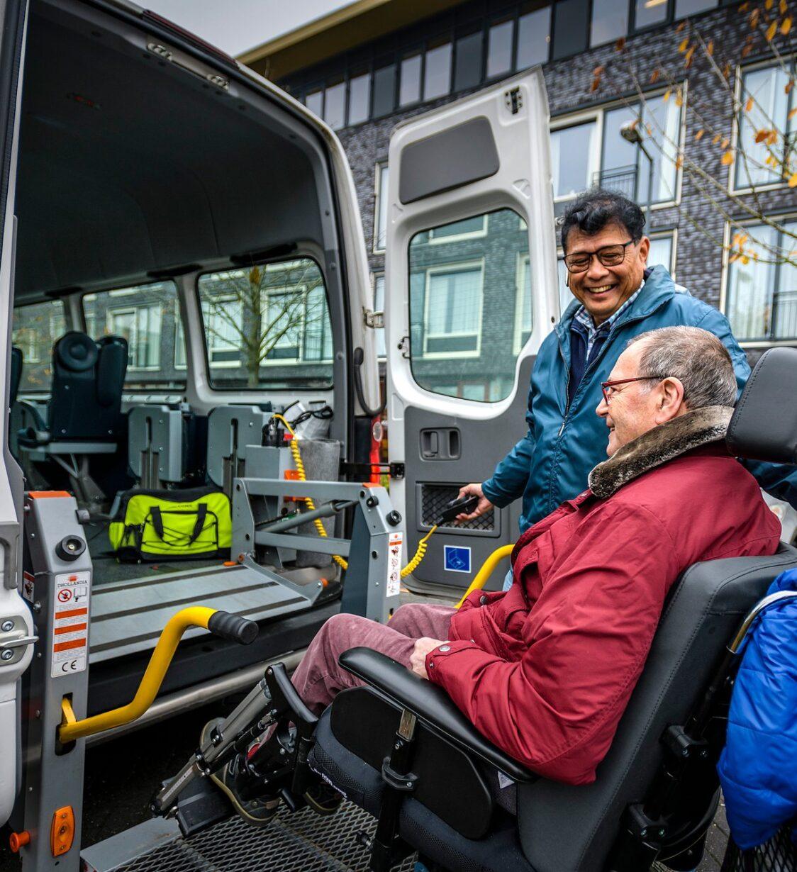 SVRZ Dagbehandeling Ter Valcke clienten vervoer