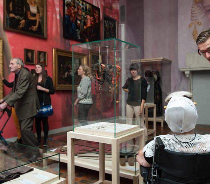 SVRZ En Willem De Koning In Zeeuws Museum werknemer