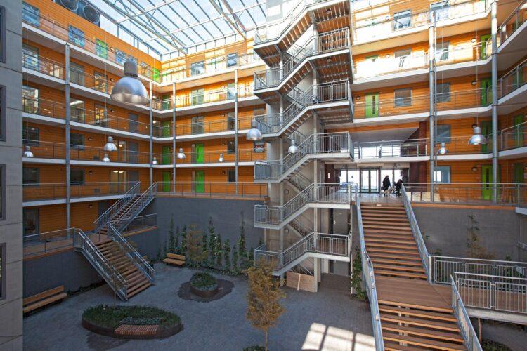 SVRZ Maxima gebouw atrium