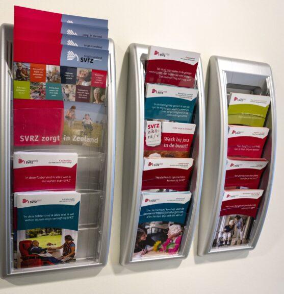 SVRZ de Blide folders en brochures