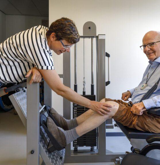 Behandeling en begeleiding fysiotherapie SVRZ