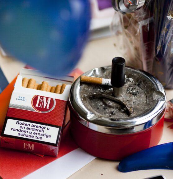 SVRZ Rookbeleid Sigaretten en asbak