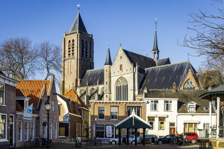 Stad en kerk Tholen SVRZ