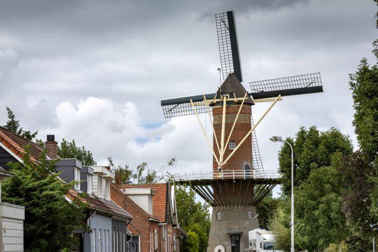 SVRZ Wolphaartsdijk en molen