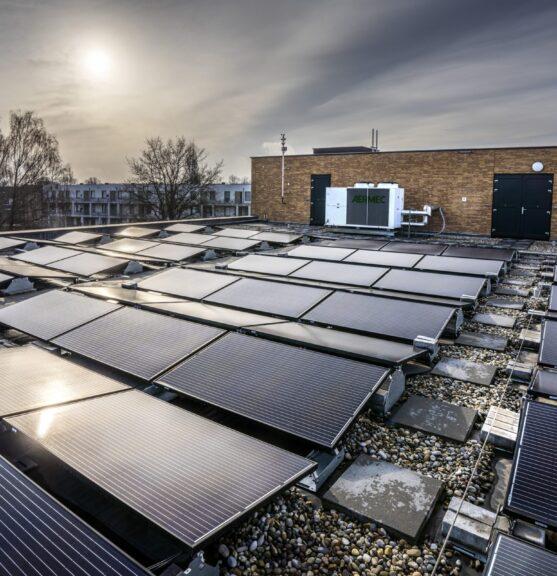 Zonnepanelen SVRZ locatie Sas van Gent