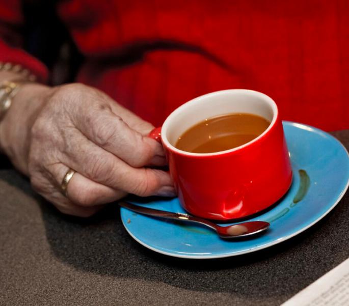 Koffie drinken SVRZ