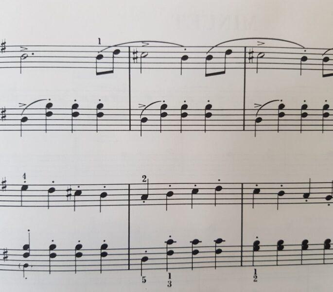 Bladmuziek muzieknoten SVRZ