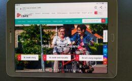 Contact houden door tablet - SVRZ