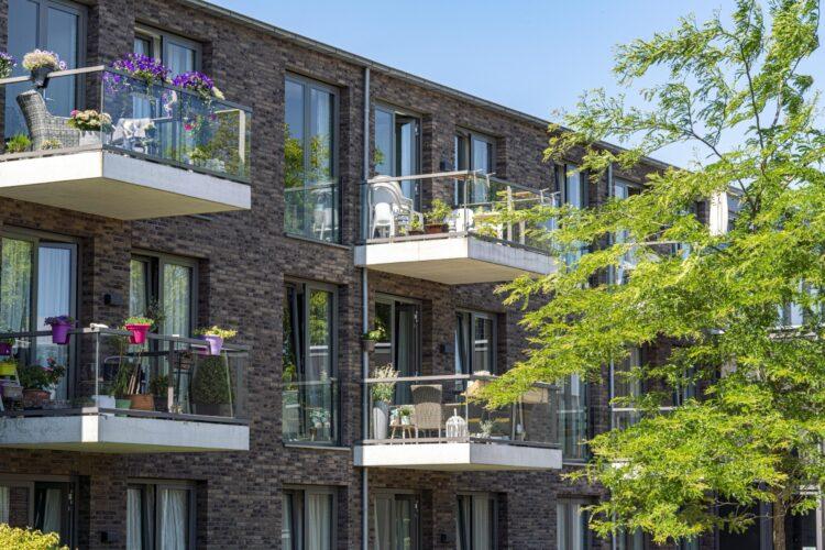Balkons van Rietzanger