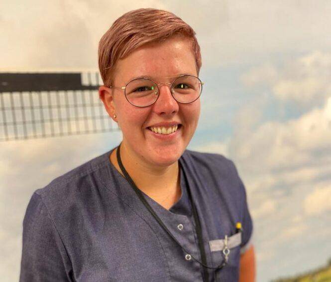 Zorgmedewerker Serena Bliek