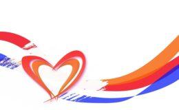 Koningsdagicoon met hart