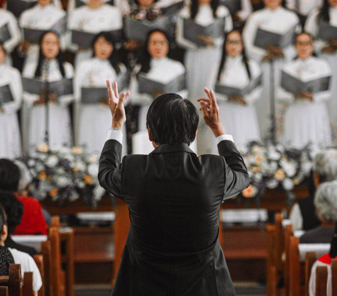 Koor Met Dirigent